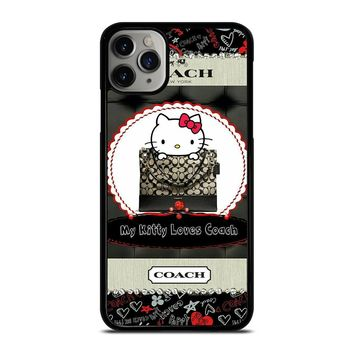 HELLO KITTY LOVES COACH iPhone Case Cover