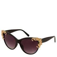 Baroque Cateye Sunglasses - Sunglasses  - Bags & Accessories