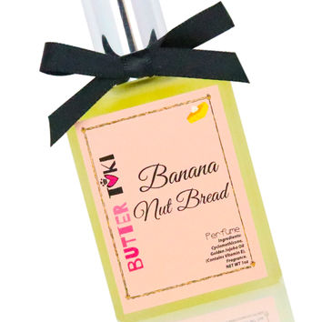 BANANA NUT BREAD Fragrance Oil Based Perfume 1oz
