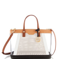West 57th Blocked Satchel