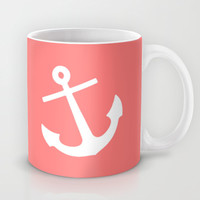 Coral Anchor Mug by M Studio