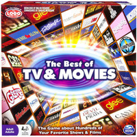Walmart: Spin Master Games Best of Movies and TV Board Game