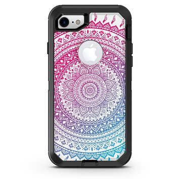Ethnic Indian Tie-Dye Circle - iPhone 7 or 8 OtterBox Case & Skin Kits