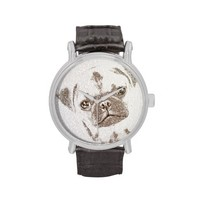 The Intellectual Pug Wristwatches
