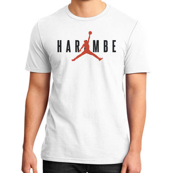 Harambe X Jordan District T-Shirt (on man)