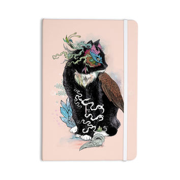 "Mat Miller ""Black Magic"" Abstract Cat Everything Notebook"