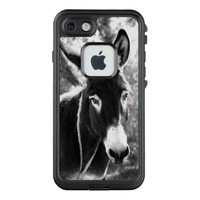 Rustic donkey picture LifeProof® FRĒ® iPhone 7 case