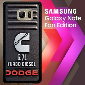 Cummins Turbo Diesel X4416 Samsung Galaxy Note FE Fan Edition Case