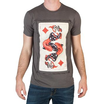 Heroes & Villains Harley Card T-Shirt