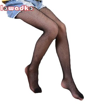 Lawadka 8-15Years Summer Mesh Kids Girls Tights Hollow out Tights for Baby Children Pantyhose Stocking