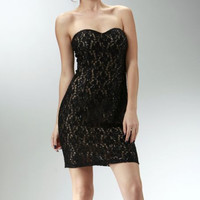 Black and Nude Sequined Short Cocktail Dress Szs XS-XL