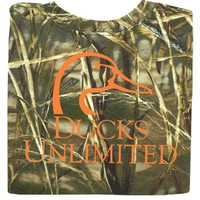 Ducks Unlimited Short Sleeve Max 4 Camo® Logo Tee 51-442K - Logo Tees - Tees - Men's