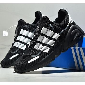 Adidas La Marque Aux3 Fashion thick-soled daddy jogging shoes-2