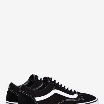 Vans Old Skool Leather Sneaker - Black