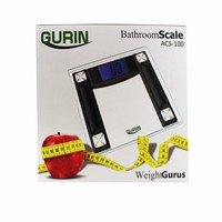 Gurin Launched High Accuracy Step-on Digital Bathroom Scale