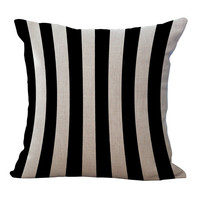 Classic Black And White Pillows
