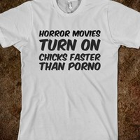 HORROR MOVIES TURN ON CHICKS FASTER THAN PORNO