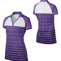 Nike Women's Stripe Golf Tunic Polo