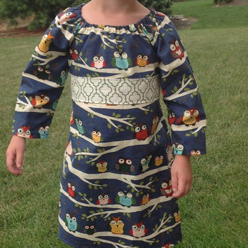 Girls Fall Dress Baby Dress Toddler Dress Thanksgiving Dress Little Girl Dresses