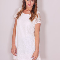 Sandcastles and Sunshine Dress - Ivory