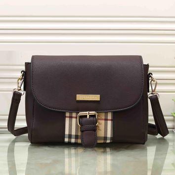 Tagre™ Burberry Women Fashion Leather Satchel Tote Shoulder Bag Crossbody