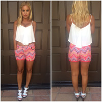 Hot Tropics Shorts With Pockets