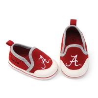 Alabama Crimson Tide Crib Shoes - Baby (Red)