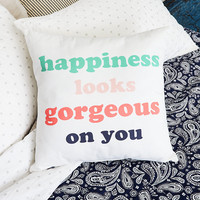 Aerie Happiness Pillow , Soft Muslin