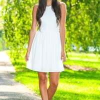 EVERLY:What A Girl Wants Dress-White
