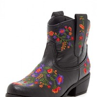Charles Albert Embroidered Cowboy Boot | Nordstrom Rack