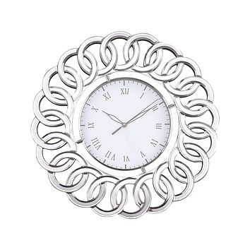 6100-033 Chatelaine Clock with Mirror