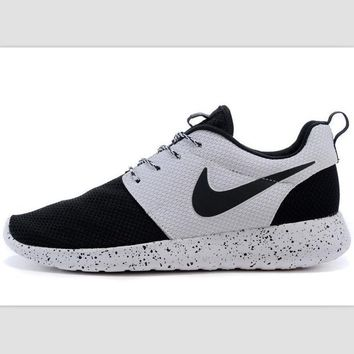 1e909267aed Nike roshe run couple light sports leisure net surface breathabl