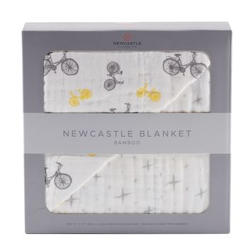 Vintage Bicycle and Northern Star Newcastle Blanket