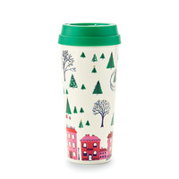 kate spade new york 16 oz Thermal Mug - Holiday Village