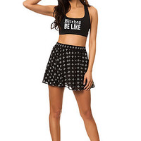 The Selena Mini Skirt