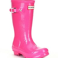 Hunter Original Glitter Girls´ Rain Boots | Dillards