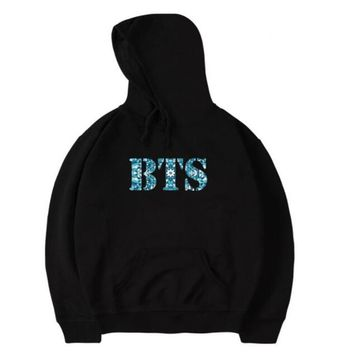 KPOP BTS Bangtan Boys Army Moletom Feminino 2018 Korean Fashion   Hooded Sweatshirt Women Long Sleeved Pullover Sweat Femme Oversized Hoodies Men AT_89_10
