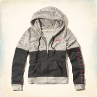 Embroidered Logo Graphic Hoodie
