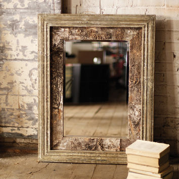 Wooden Mirror - Birch Wood Mirror