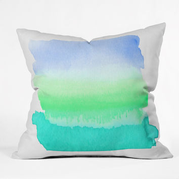 Rebecca Allen Somewhere Beyond The Sea Throw Pillow