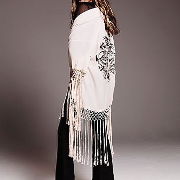 Spell and the Gypsy Collective Womens Stag Amulet Kimono