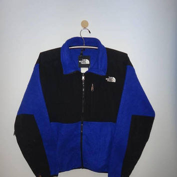 The North Face Jacket Fleece Zip Up Hiking Color Block