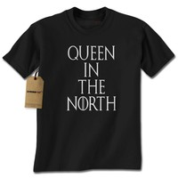 Queen In The North GoT Mens T-shirt