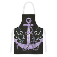 "Pom Graphic Design ""Tribal Nautica I"" Artistic Apron"