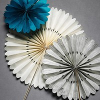 Crinkled Wheel Set in  the SHOP Decor Decorating at BHLDN