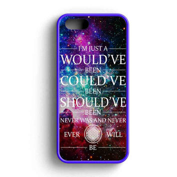 Bring Me The Horizon Could Would Quote  iPhone 5 Case iPhone 5s Case iPhone 5c Case