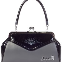Spiderweb Backseat Baby Purse by Sourpuss