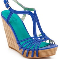 "Some of you have to get in on this: Seychelles ""Gale Force"" Leather Wedge Sandal"