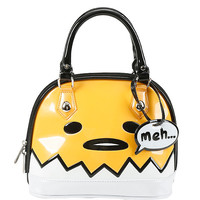 Loungefly Gudetama Big Face Dome Bag