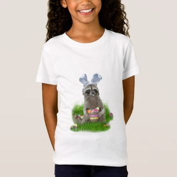 Easter Raccoon Bandit T-Shirt
